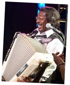 Buckwheat Zydeco at the 2011 AIJF