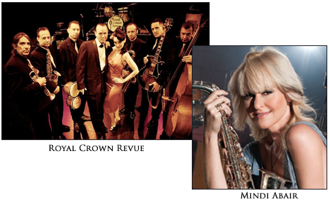 Mindi Abair - Royal Crown Revue Headliners AIJF